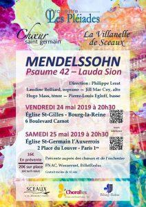 Concerts Mendelssohn